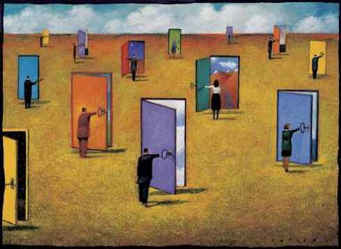mindenki a maga kapuit nyitogatja